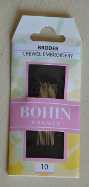 Sewing Needles Crewel- Size 10 Crewel/Embroidery by Bohin