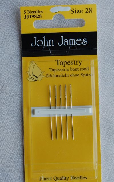 Sewing Needles Tapestry - Size 28