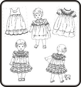 Antique Toddler Dresses Pattern
