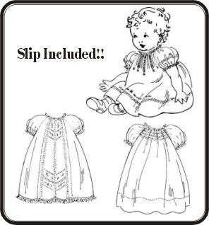 Baby Rose Raglan Dresses Pattern