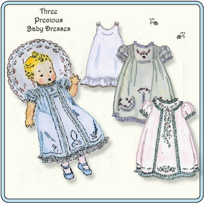 Revised Baby Daydresses Pattern