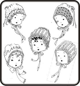 Christening Bonnet  Collection Pattern