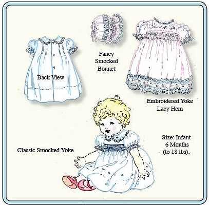 Emma's Smocked Baby Dresses Pattern