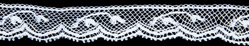 Lilly of the Valley Maline Lace