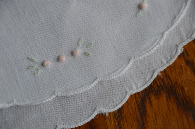 Bib - Linen Ready To Embroider - Kit