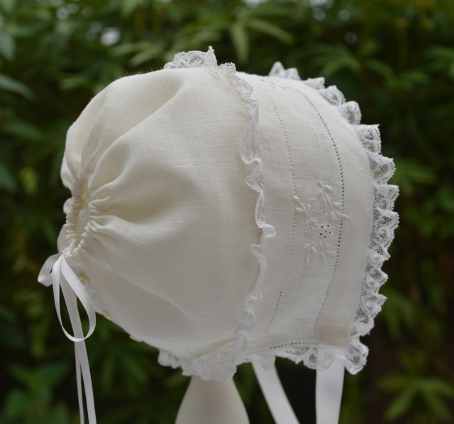 Miss Buford's Baby Bonnet Pattern and Kit