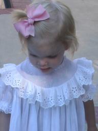 Antique Toddler Dress on Emma Rose