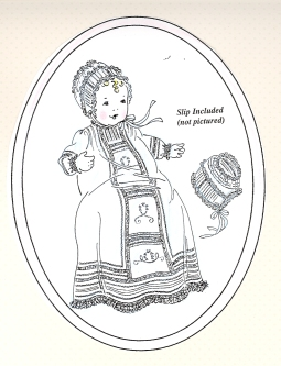 French Acadian Christening Gown Pattern