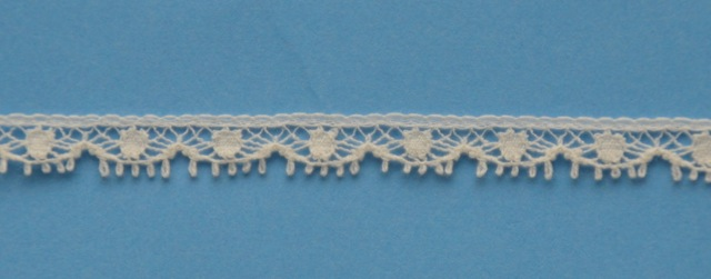 Lace Edging Tiny Ecru - 3 1/2 yards