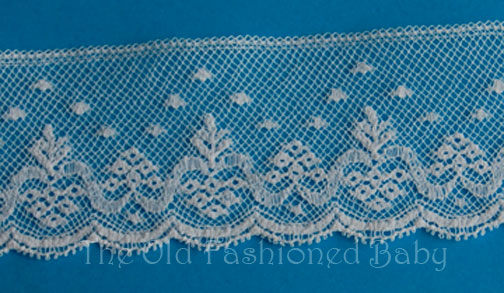 Ef- Victoria Maline Lace Edging 1 1/4""