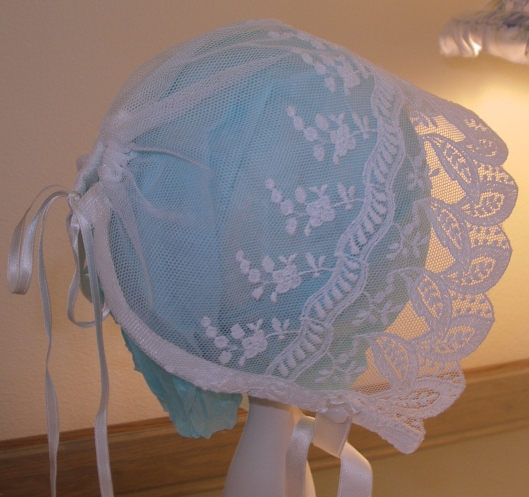 Lace Baby Bonnet Kit