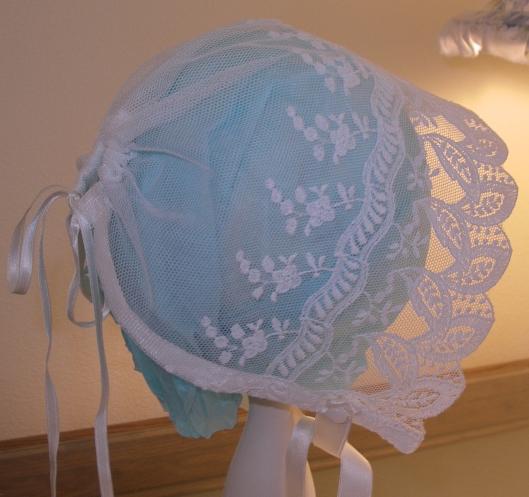Lace Baby Bonnet Kit 90458c25237