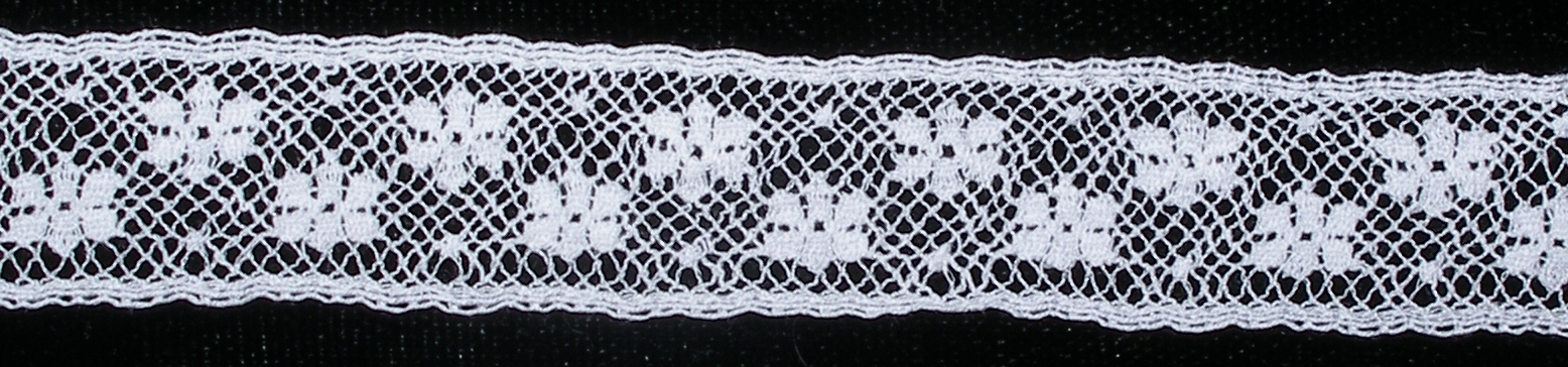Lace Snowflake Insertion Sold by the Yard