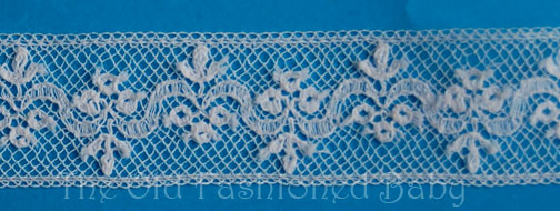 "Eb - Victoria Maline 5/8"" Lace Insertion"