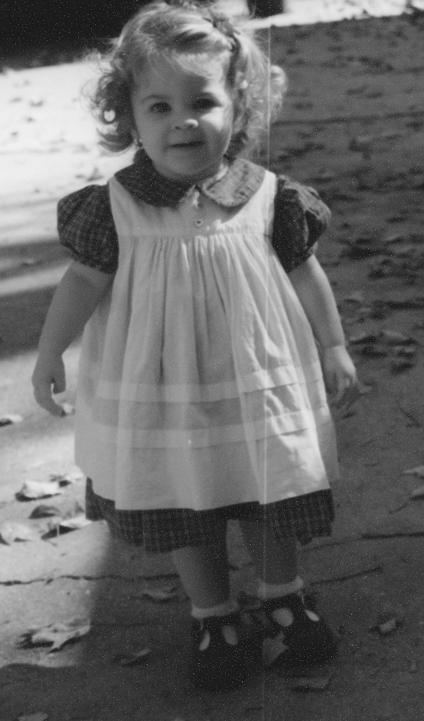 Toddler Dress & Apron