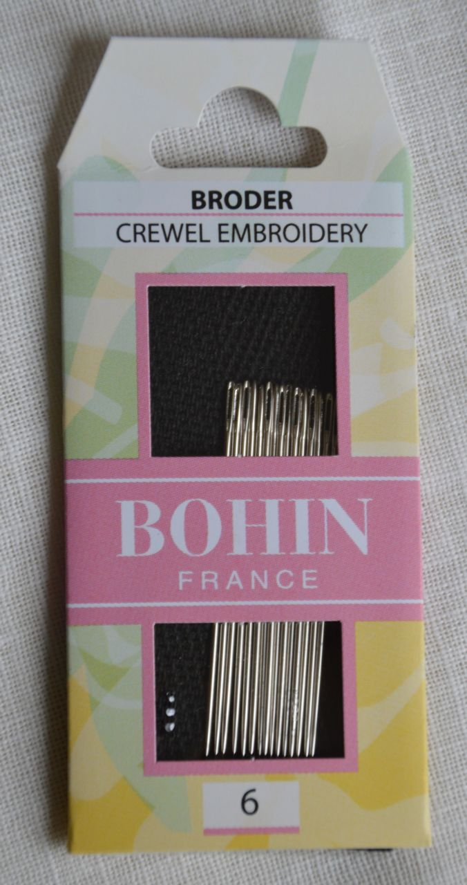 Sewing Needles Crewel - Size 6 Crewel/Embroidery