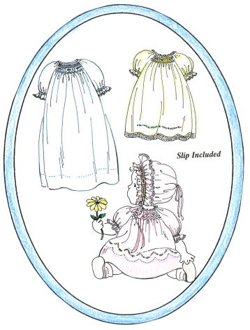 Baby's Smocked Layette Pattern