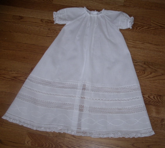 Raglan Christening Gown Kit View 2