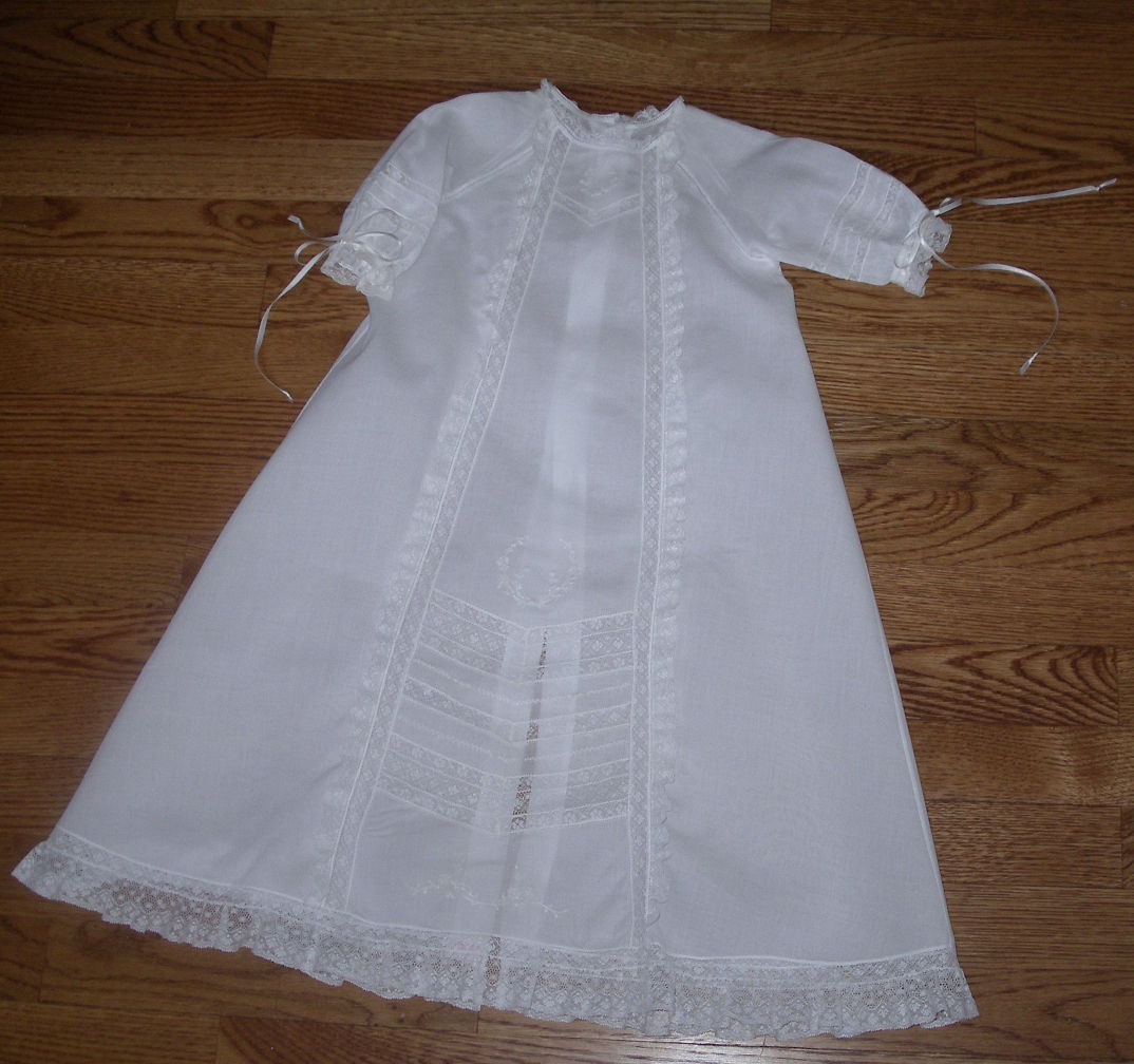 Raglan Christening Gown Kit View 3