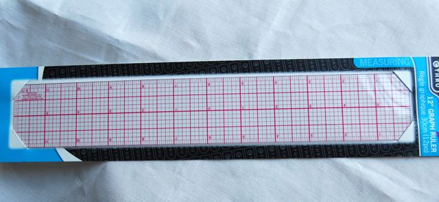 "Graphed Ruler - 2"" X 12"""