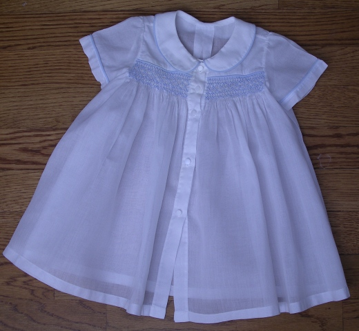 Kit for Smocked Baby Clothes Boy Apron