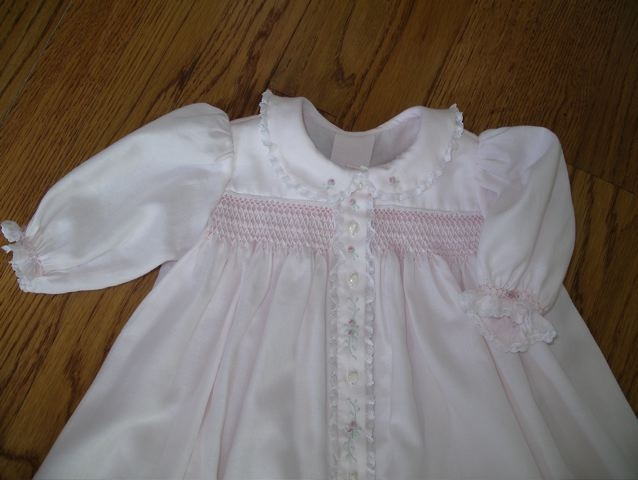 Smocked Baby Clothes Pink Kit