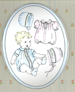 Sweet & Simple Bubbles and Bonnets Pattern