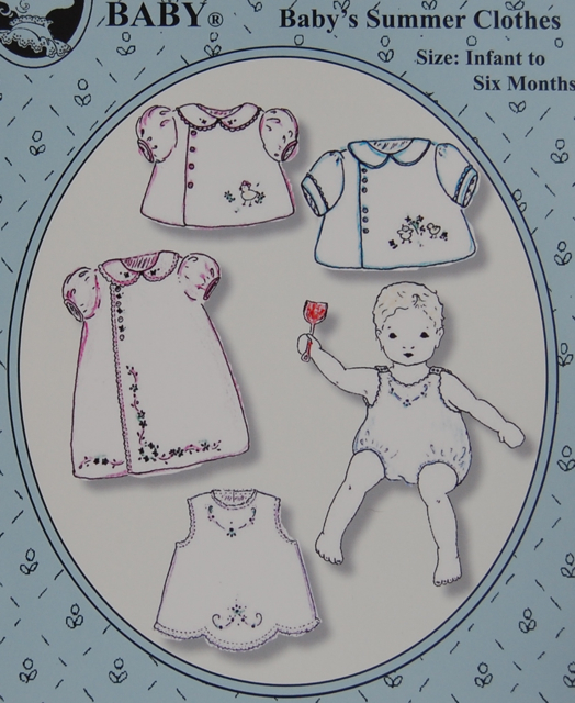 Baby's Summer Clothes Pattern