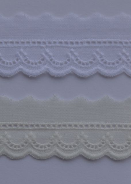 Swiss Edging - Narrow with Entredeux D