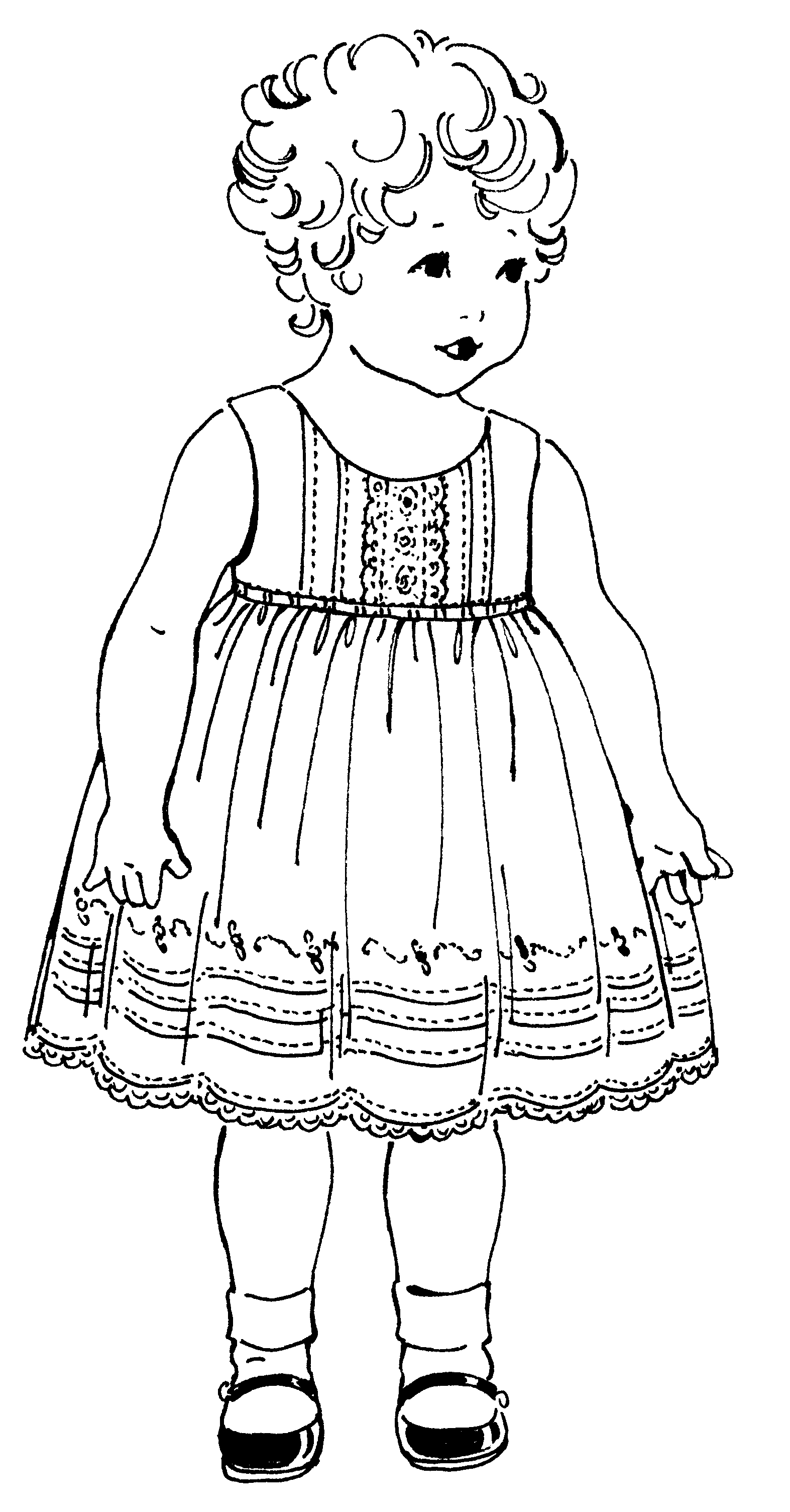 Toddler Summer Dresses Pattern